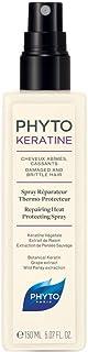 Phyto Phytokeratine Spray Riparatore Termoprotettivo con Cheratina per Capelli Rovinati, che si Spezzano, Formato da 150 ml