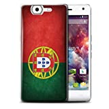 Stuff4 Phone Case for Wiko Highway 4G Nation National Flags