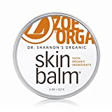 Zoe Organics - Dr. Shannon's Organic Skin Balm, Supports Skin Woes from Chapped Cheeks to Eczema, Restoring Aging and Scarred Skin, Safe for All Skin Types and Ages (2 Ounces)
