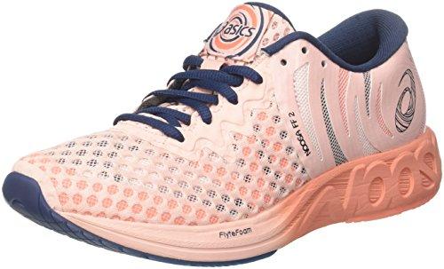 ASICS Noosa FF 2, Chaussures de Running Femme, Rose (Seashell Pink/Dark Blue/Begonia...