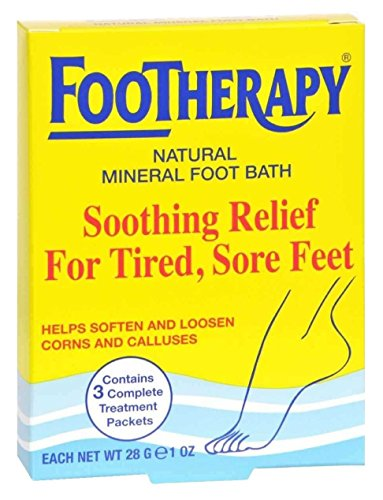 FooTherapy Natural Mineral Foot Bath, Soothing Relief...