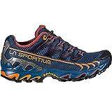 LA SPORTIVA Ultra Raptor Woman, Zapatillas de Trail Running Mujer, Denim/Rouge, 38 EU