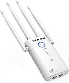 WAVLINK AC1200 Dual Band WiFi Extender Gigabit Signal Booster, 2.4G+5G WiFi Amplifier Repeater/Wireless Router/Access Poin...