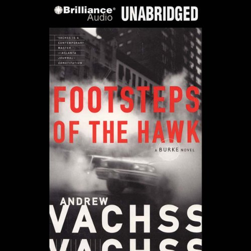 Footsteps of the Hawk audiobook cover art