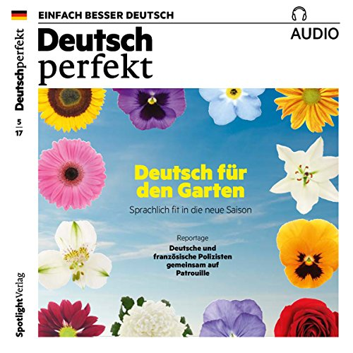 Deutsch perfekt Audio. 5/2017 cover art