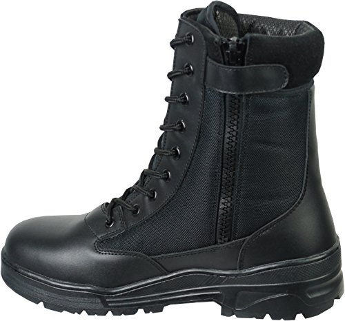 Savage Island Side Zip Army Patrol Tactical Action Combat Boots (9 UK,...