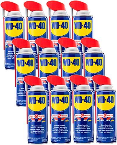 WD-40 490057 Multi-Use Lubricant Smart Straw Spray...