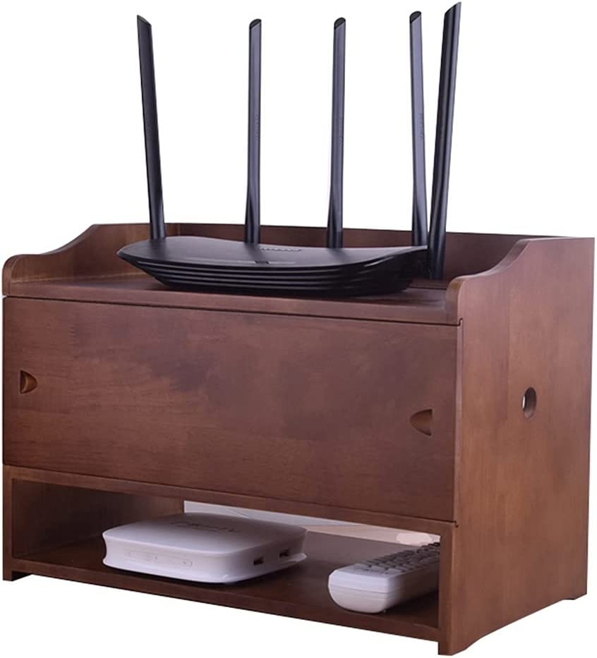 Super beauty product restock quality top! Set-top Box Rack Solid Wood Wireless S WiFi sold out Router Power cat
