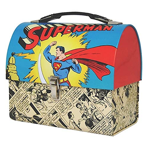 Domed Tin Tote - Superman