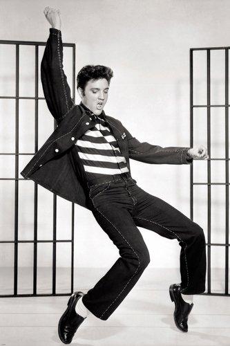 Unbekannt Classic Elvis Jailhouse Rock Film noch Poster 'Swingin Hüfte Cool 24x 36