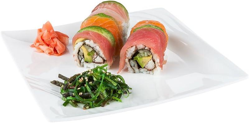 Voga 10 Inch Raleigh Mall 5% OFF Square Plates - Dinner Fla Medium