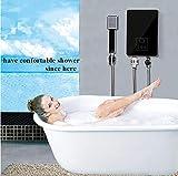 TQ Calentador de Agua instantáneo Estilo eléctrico Sin Tanque Calentador de inducción Caliente Baño Fregadero de la Cocina Grifo Suministro de Agua Caliente