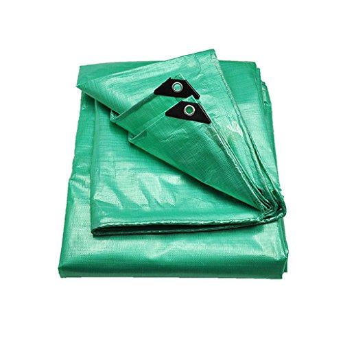 Hardware Tarps Tie-Downs Outdoor dikke dekzeil Waterdichte zonnescherm doek Regen luifel Auto vrachtwagen olie doek doek Booth doek Anti-UV 300cm*500cm Groen