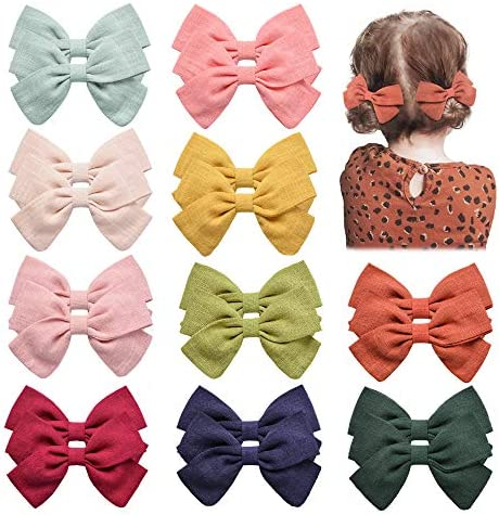 20PCS Baby Girls Hair Bows Clips Hair Barrettes Accessory for Babies Infant Toddlers Kids in product image