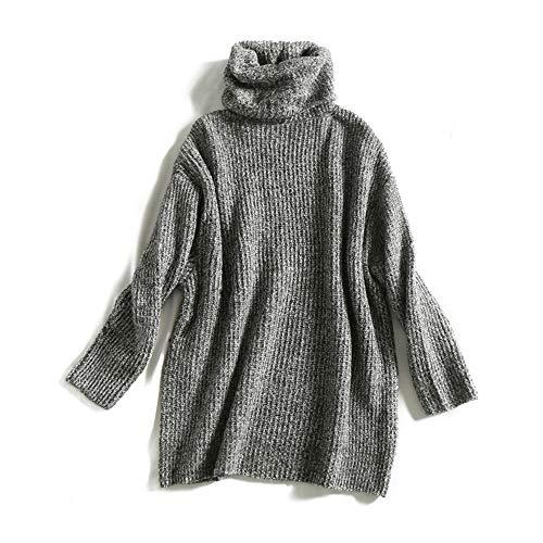 Urlaubsangebot 15 Farbe Frauen Fashion Solid Casual Strickpullover Weibliche Rollkragen Übergroße Pullover Damen Elegante Lose Pullover