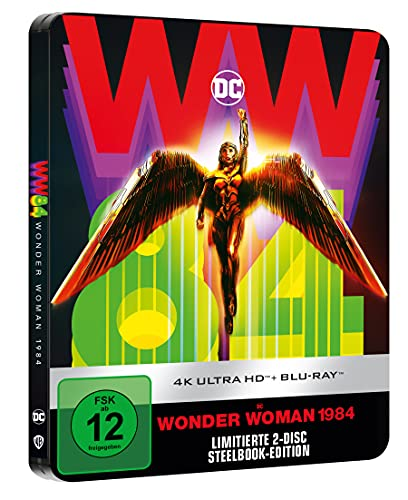 Wonder Woman 1984 (limitiertes Steelbook 4K UHD) [Blu-ray]