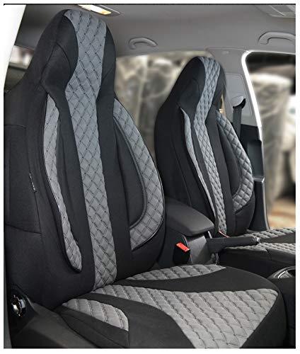 Fundas de asiento compatibles con Mercedes Clase CLA C117, conductor y copiloto a partir de 2013 –
