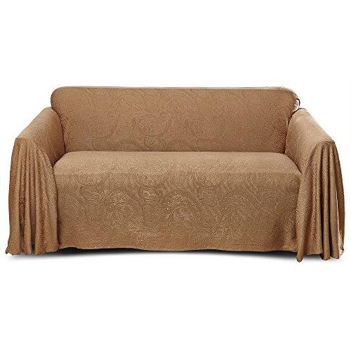 Stylemaster Alexandria Furniture Throw, Large Sofa, Mocha