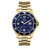 Ice-Watch - ICE steel Gold blue - Orologio oro da Uomocon Cinturino in metallo - 016762 (Large)