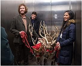 T.J. Miller as Clay Vanstone Jason Bateman as Josh Parker and Olivia Munn as Tracey Hughes Smiling 8 x 10 Inch Photo