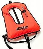 Phantom Aquatics Kids Snorkel Vest, Yellow