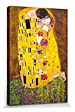 1art1 Gustav Klimt - Der Kuss, 1908 Bilder Leinwand-Bild