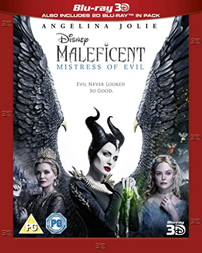 Maleficent: Mistress of Evil 3D [Blu-ray] [2019] [Region Free]