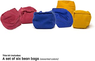 Skywalker Sports Assorted Colored Bean Bags (Set of 6)