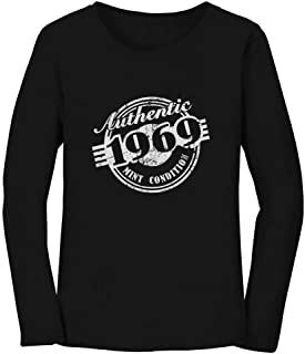 50th Birthday Gift 1969 Mint Condition Women Long Sleeve T-Shirt