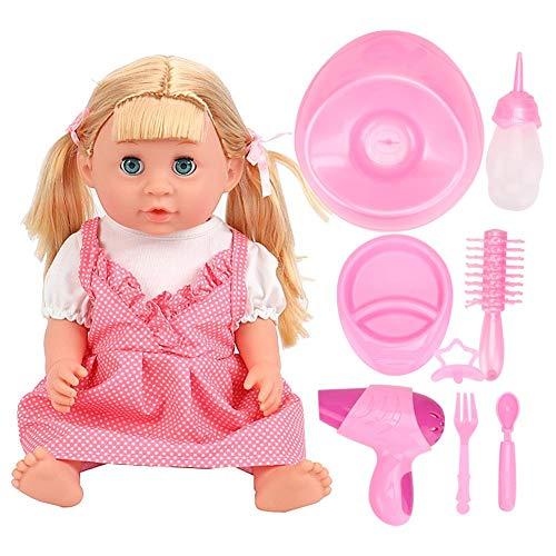 Brinquedo de boneca, brinquedo de boneca elétrica, brinquedo de boneca, presente de meninos para crianças para crianças(SY011-4 color box version)