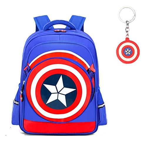 Waterproof Captain America 3D Bag Backpack Comic Super Hero Design backpacks bags For gift