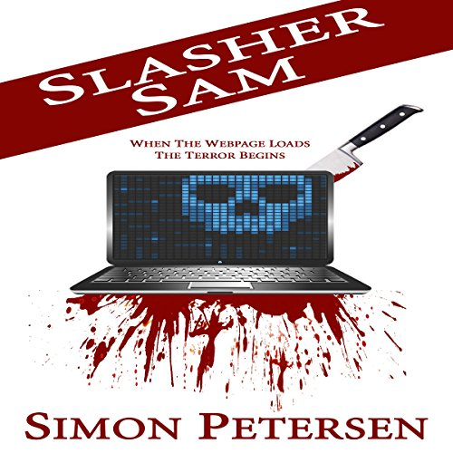 Slasher Sam audiobook cover art