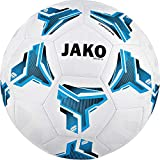 JAKO Striker 2.0 MS Trainingsball, weiß blau/schwarz, 5
