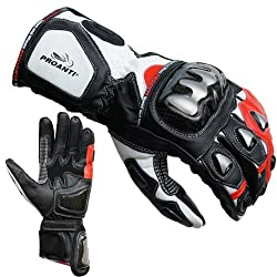 PROANTI Motorcycle Gloves Racing Pro Motorcycle Gloves - Size L
