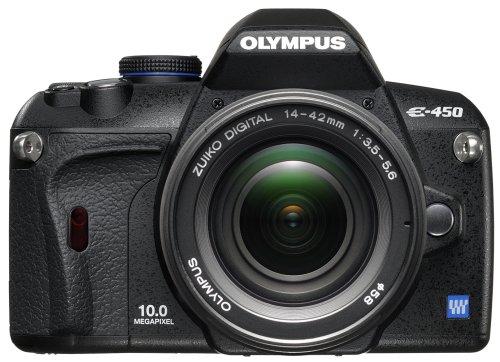 Olympus E-450 - Cámara Réflex Digital 10 MP (Objetivo 14-42mm)