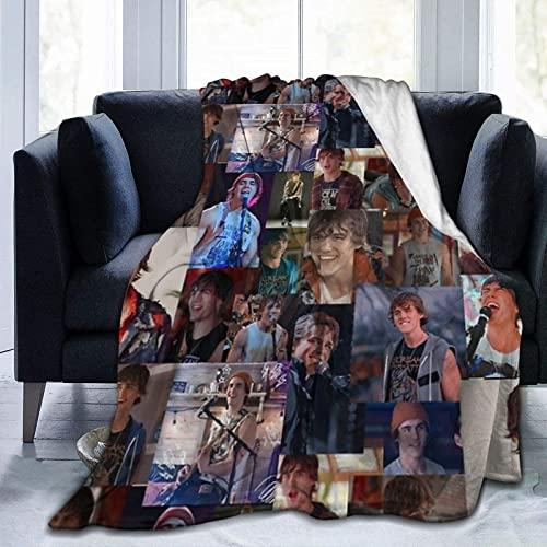 Ju-Lie and The Phan-Toms Lu-Ke - Manta de forro polar para comodidad y calidez, ideal para decoración del hogar, sofá, coche, viaje
