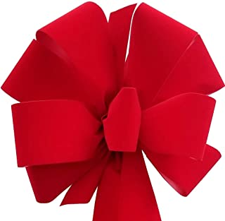 12-Pack Red Christmas Bows 10