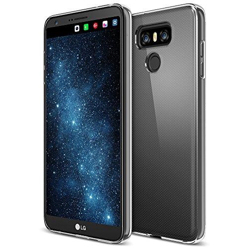 LG G6 Case, Trianium [Clarium Series] - Clear Premium Protective Case Shock Absorption TPU Bumper Cushion + Scratch Resistant Clear MicoDot Cover for LG G6 (TM000105)