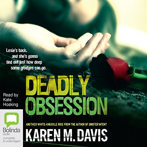 Deadly Obsession audiobook cover art