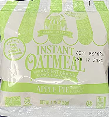 Bakery On Main Gluten-Free, Non-GMO Ancient Grains Instant Oatmeal