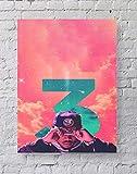 MeiMeiZ Chance The Rapper Poster Standard Size   18-Inches by 24-Inches   Chance The Rapper Acid Rap Posters Wall Poster Print