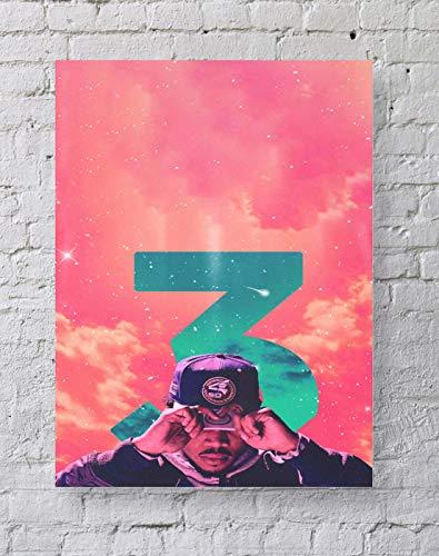 MeiMeiZ Chance The Rapper Poster Standard Size | 18-Inches by 24-Inches | Chance The Rapper Acid Rap Posters Wall Poster Print