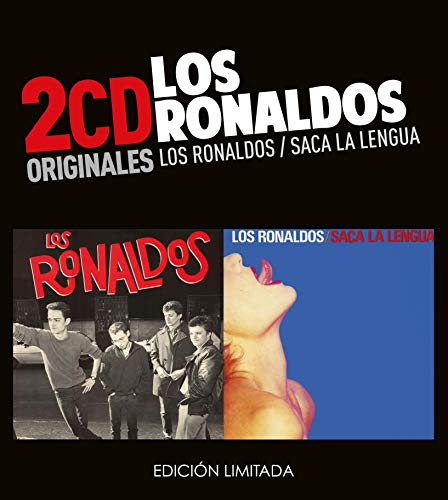 Los Ronaldos -Los Ronaldos  /  Saca La Lengua  (2 CD)