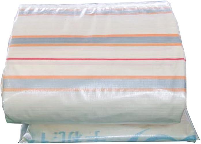 GLJ Housse De Pluie en Plastique Pare-Soleil Tissu Imperméable à l'eau électrique à Trois Roues Canopy Bache Pare-Soleil Imperméable à l'eau Bache bache (Couleur   or+argent, Taille   6x10m)