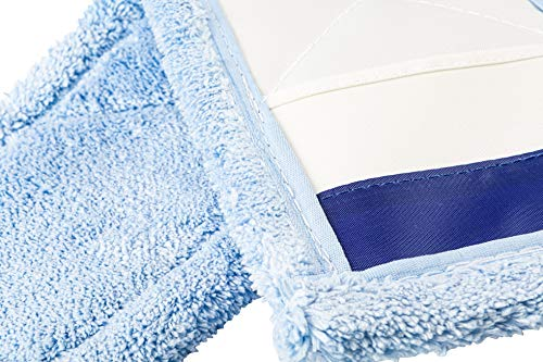 AQUA CLEAN Premium Microfaser Bodenmopp 40cm blau