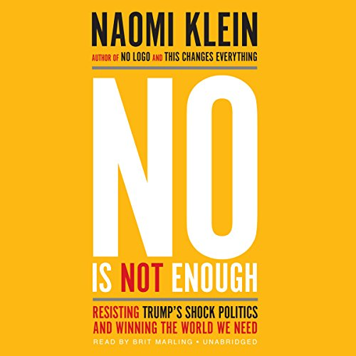 No Is Not Enough audiobook cover art