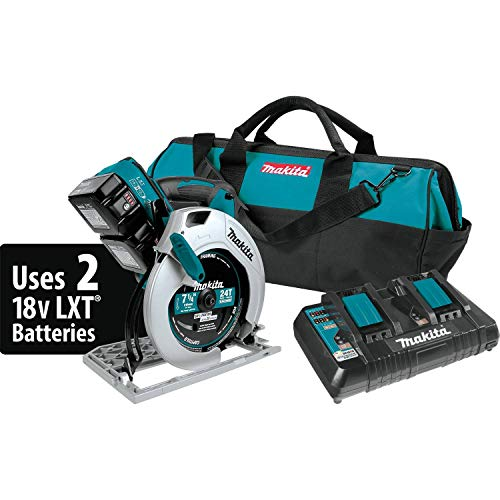Makita XSH01PT 18V X2 LXT Lithium-Ion (36V) Cordless 7-1/4' Circular Saw Kit
