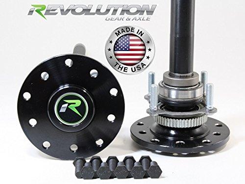 Revolution Axle RAK44-1 - Dana 44 US Made Rear Axle Kit, Jeep TJ & LJ Rubicon & Non W/Disc Brakes, 30 Spline