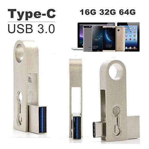 SETAYO 64GB USB-C auf USB 3.0 Flash Drive OTG Flash Laufwerk U Speicherstick für MacBook Pro, Samsung Chromebook Plus, Nexus 6P 5X, Google Pixel und mehr