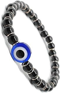 The Bling Stores Onyx and Evil Eye Stone For Spiritual Energy Reiki Healing Bracelet For Men And Women